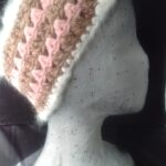 Crochet 50% angora/ 50% merino ear warmer/ headband from www.angoraonline.com