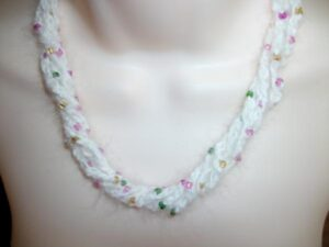 angora necklace