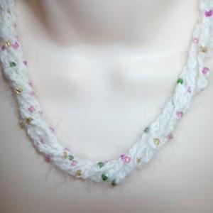 angora necklace