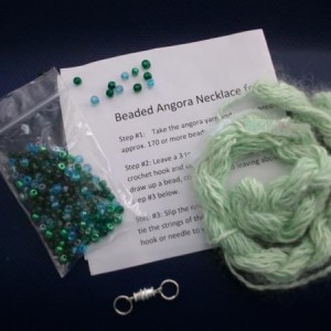 angora necklace kit