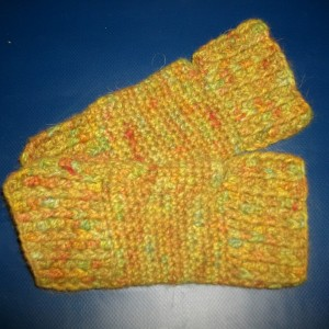 fingerless angora gloves