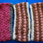 Hand crafted wool  ear warmer headband.