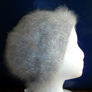 angora rabbit hat we have a kit for this too, where you can choose the natural yarn color and get the pattern for free.