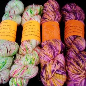 Rainbow Kettle yarns / angoraonline.com