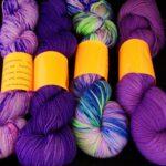 Rainbow Kettle yarns / angoraonline  Handdyed tonal sock yarn hand dyed 80/20 merino/nylon yarn,