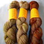 Hand dyed 80/20 Merino nylon sock yarn, 400 yd, fingering yarn