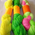 Hand dyed Sock Yarn, SW 80/20 Merino Nylon Yarn, 400 Yd