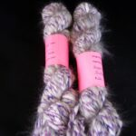 This super soft angora yarn in bulky weight is perfect of a accent on any project.