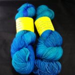 Hand dyed 80/20 Merino/ silk  yarn, 600yd., 150 g. from Rainbow Kettle Yarns new at angoraonline.com