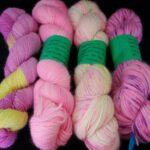 Handdyed angora sock yarn at www.angoraonline.com