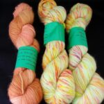 Handdyed angora sock  yarn from  www.angoraonline.com