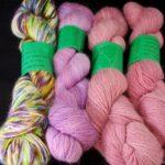 hand dyed 30% angora yarn, fingering weight, 400 yd. www.angoraonline.com