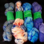 Hand dyed angora sock yarns at angoraonline.com