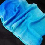 Hand Dyed Yarn, Single Knit Sock Blank, Rainbow Kettle Yarn, OOAK Sock Blank. Gradient Sock Blank, Striping Sock Yarn