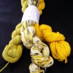 85% Polwarth Wool/ 15% Silk Hand Dyed by Rainbow Kettle Yarns
