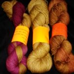 Rainbow Kettle yarns / angoraonline.com  Hand dyed tonal sock yarn hand dyed 80/20 merino/nylon yarn,