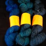 Hand dyed tonal sock yarn hand dyed 80/20 merino/nylon yarn, 400yd,