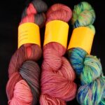 Rainbow Kettle yarns / angoraonline  Hand dyed 80/20 merino/nylon yarn,