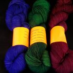 Hand dyed 80/20 Merino/ Nylon yarn Rainbow Kettle Yarns