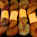 Hand dyed tonal sock yarn hand dyed 80/20 merino/nylon yarn, 400