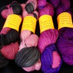Hand dyed sock yarn 80/20 merino/nylon yarn, 400yd,