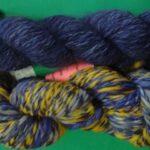 handspun angora/ merino yarn in bulky wt.