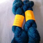 Hand dyed 80/20 merino nylon sock yarn, 400 yd
