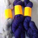 Hand dyed 80% Merino & 20% Nylon Sock Yarn