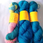 Hand dyed Sock Yarn Rainbow Kettle Yarns from Angoraonline.com