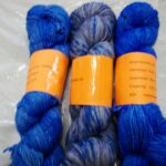 Hand dyed sparkle sock yarn at www.angoraonline.com