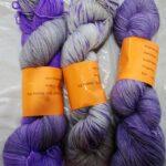 hand dyed sparkle sock yarn at www.angoraonline.com