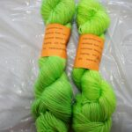 Hand dyed sparkle sock yarn from www.angoraonline.com