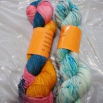 Handdyed sparkle sock yarn www.angoraonline.com