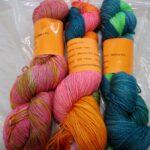 hand dyed sparkle sock yarn www.angoraonline.com