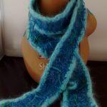Angora skinny scarf from www.angoraonline.com