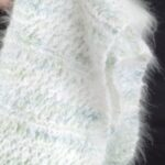 100% Angora scarf careful created with the finest angora fibers from our own angora bunnies pets