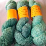 Hand dyed SW Merino Nylon Yarn 400 yd. Sock Yarn